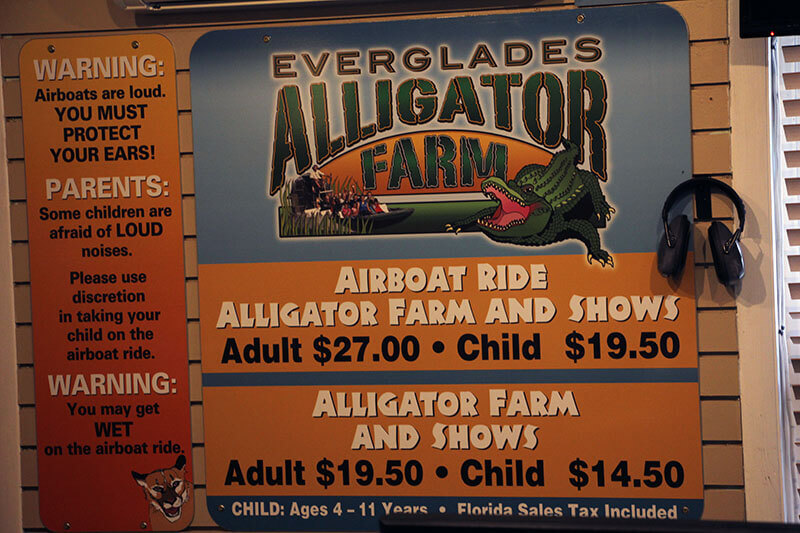Everglades National Park Prices