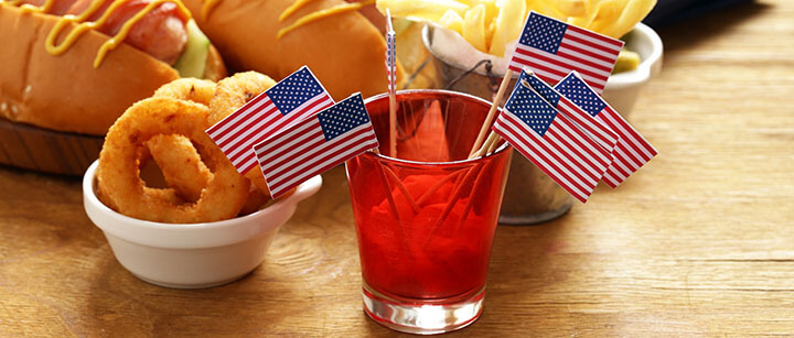 Snacks  for independence day